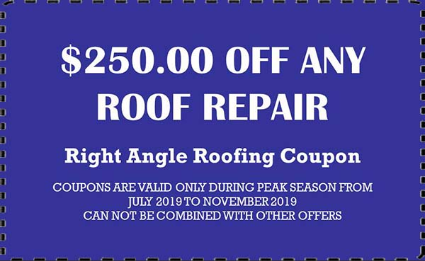 Right Angle Roofing Repair Coupons